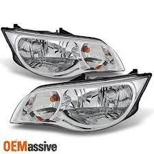 2003 2007 Saturn Ion Coupe Left Right Replacement Pair Headlights Assembly Set Saturn Headlight Assembly Headlights