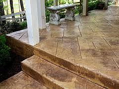 concrete patio and porch resurfacing