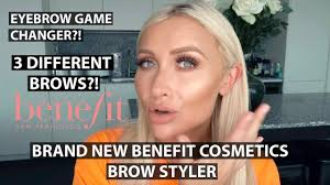 <b>eyebrow</b> routine | brand <b>new benefit</b> cosmetics <b>brow</b> styler