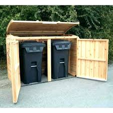trash container storage shed outdoor garbage storage outdoor garbage can storage ideas outdoor trash can storage trash container storage