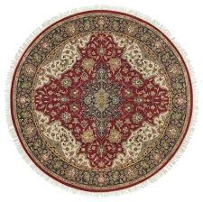 red round area rug 8 rugs traditional