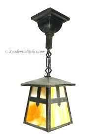 mission pendant light craftsman lights style outdoor lighting