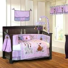 purple nursery bedding jungle girl piece purple baby crib bedding set with pink safari purple elephant purple nursery bedding