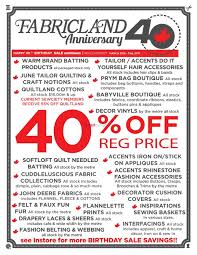 fabricland flyers fabricland west flyer 25 to 31