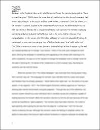essay the yellow priya patel final paper the this is the end of the preview sign up to access the rest of the document