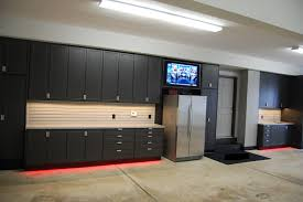 exquisite remarkable brown flooring and gorgeous black big cabinet workbench home depot and stainless steel refrigerator