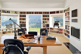 modern private home office.  office modern private library design ideas in modern private home office o