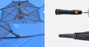 fan umbrella. details fan umbrella