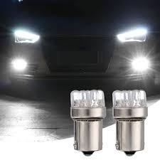 Led Car Signal Lights Details About 2pcs Dc 12v Ba15s 1156 9 Led Car Tail Brake Turn Signal Lamp Bulbs White Light