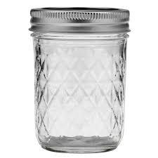 6 x Quilted 8oz (237ml) Ball Mason Jam Jars and Lids BPA FREE. &  Adamdwight.com