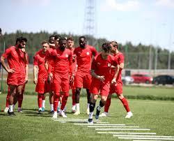 Sivasspor Petrocub maçına hazırlanıyor - Hbrler.com