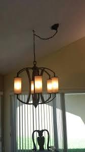 chandelier hooks hanging a heavy