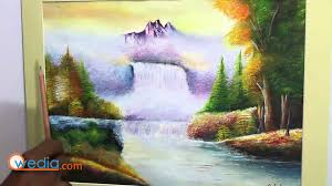watercolour landscape painting tips in hindi