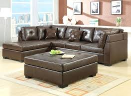 brown leather ottoman coffee table awesome brown leather living room furniture design brown leather sectional sofa