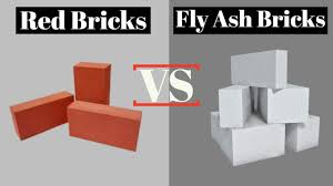 Light Weight Bricks In Chennai Difference Between Red Bricks And Fly Ash Bricks