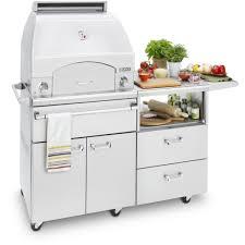 Mobile Kitchen Equipment Lynx Professional Napoli 30 Inch Freestanding Propane Gas Outdoor