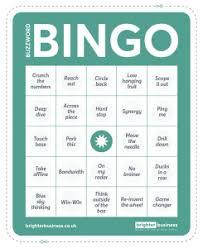Office Bingo Lets Play Office Buzzword Bingo Brighter Business By Opus Energy