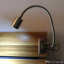 clip on bed lamp metal made clip on led table light desk lamp for bedside working clip on bed lamp