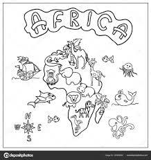 Kleurplaten Wilde Dieren Afrika In Kleurplaten Afrikaanse Dieren