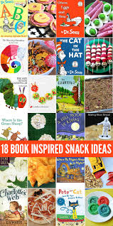 18 book inspired snack ideas for kids perfect for book week international book day