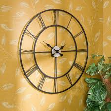 total fab oversized  giant metal wall clocks