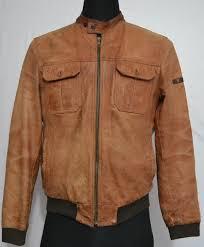 strellson men s stylish leather jacket s 27 1 1 kg