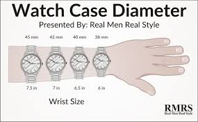 Watch Band Size Chart Watch Sizes Guide How To Buy The Right Watch For Your