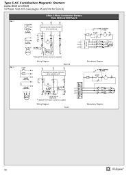 square d magnetic starter wiring diagram efcaviation com 1 phase motor starter wiring diagram at Square D Magnetic Starter Wiring