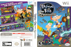 hq phineas and ferb across the 2nd dimension wii cover smfe4q
