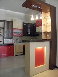 Kitchen Cabinet Design With Mini Bar