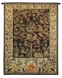 tree of life vintage wall tapestry