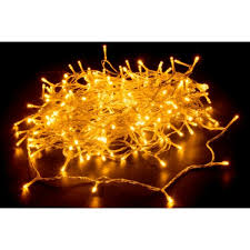 240 warm white led fairy light chain clear cable fairy lights decorative lights