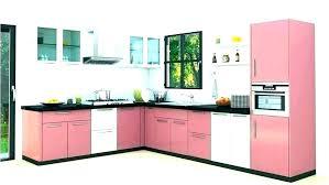 Small L Shaped Modular Kitchen Design