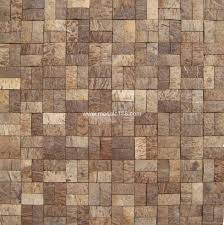 brick design mosaic Coconut tiles