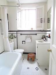 penny tile floor bathroom shabby chic with bathroom storage black and white bathroom black