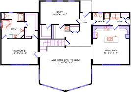 Open floor plans with loft House Plans Main Floor Chalet Chalet