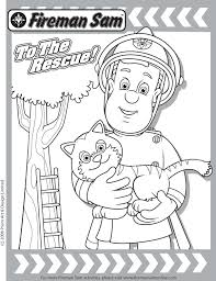 Small Picture Rescue Friends DVD Fireman Sam Coloring Page Fireman sam