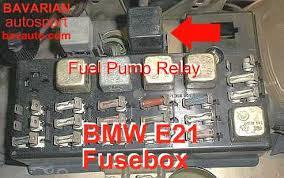 bmw e21 fuel pump relay 320i 320 6 323i bavarian autosport blog tags