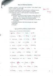 endearing types of chemical equations worksheet jennarocca balancing practice class 10 workshee balancing equations practice worksheet