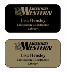Sample Name Badge Name Badge Request Form Campus Printing Design Services
