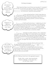 Narrative Essay Transitions Exercise For Writing Students