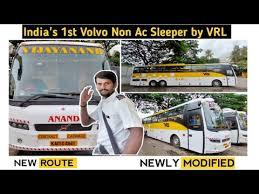 india s first volvo non ac sleeper