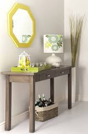 Furniture: The Most Admirable Everett Foyer Table For Home  Intended For Skinny  Entryway Table