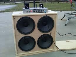 build guitar speaker cabinet