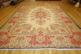 turn the rug over so the pile side faces down