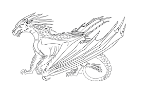 Small Picture WIngs of Fire Icewing Base REDO by WindyMoonStorm on DeviantArt