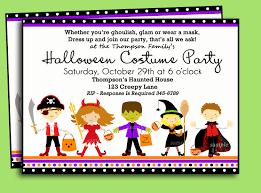 Free Halloween Birthday Invitation Templates Free Halloween Costume Party Invitation Templates Printable