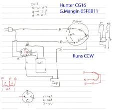 hunter fan motor wiring diagram wiring diagram wiring diagram for hunter fan the