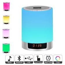 ซอทไหน Night Lights Led Lamp Bluetooth Speaker Wireless Touch