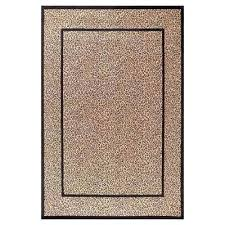 animal print area rugs the home depot paw rug bear runner